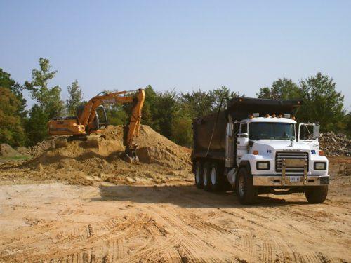 dirt-hauling